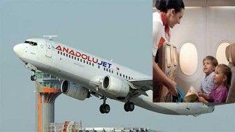 Anadolujet dünya kadınlar günü kampanyası uçak biletlerinde %25 indirim