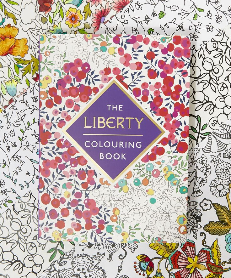 The Liberty Colouring Book Make Your Mark On A Stunning Collection Of Patterns From Archive