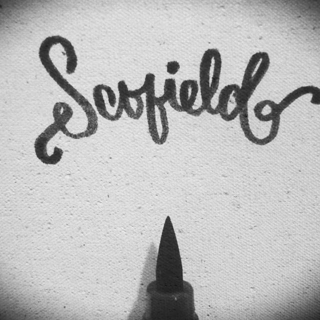 Hey, Fish! #Caligrafía #PrisonBreak #Lettering #Calligraphy #Brushpen