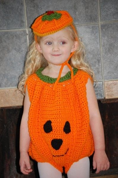crochet  pumpkin costume | Toddler Pumpkin Costume and Hat Crochet Pattern pdf 467