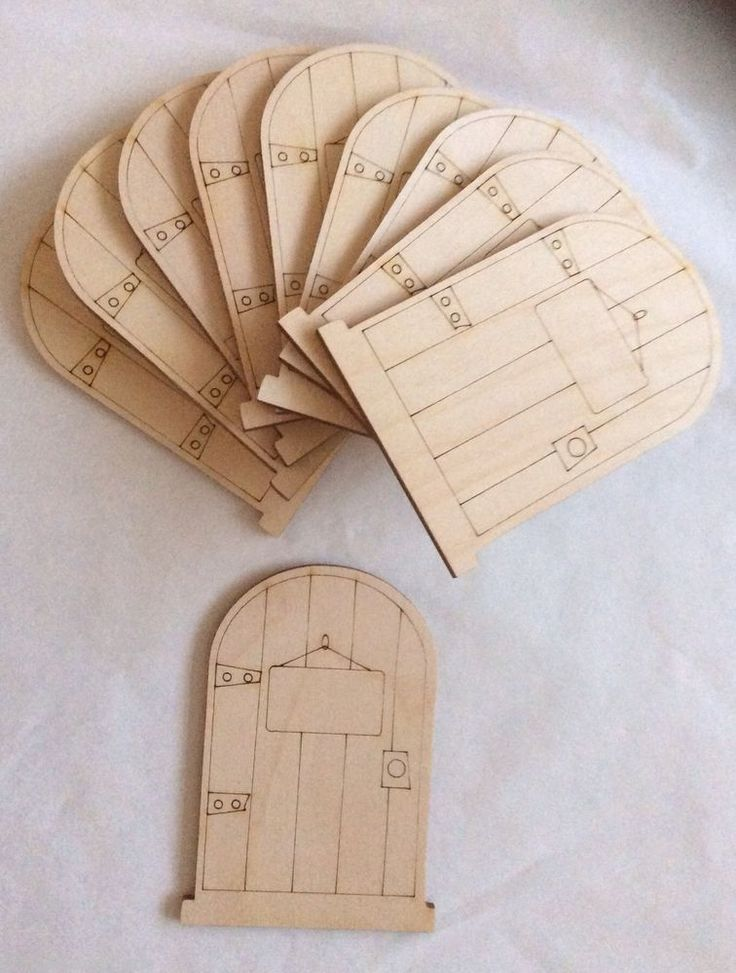 13 best ben and holly castle images on pinterest for Unpainted fairy doors