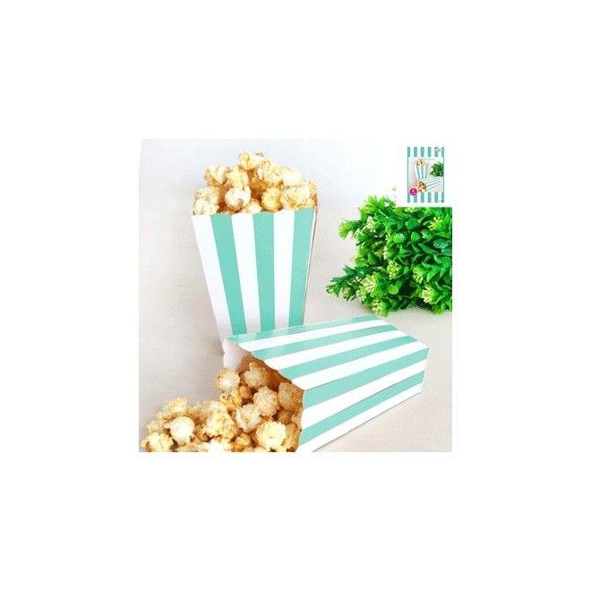 Popcorn Box Liten Turkos