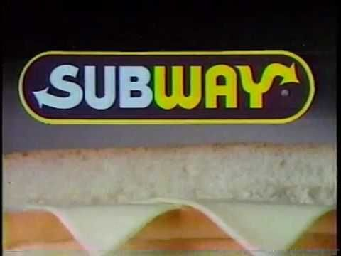 Subway Commercial (T2 Thirst Terminator) 1991 - YouTube