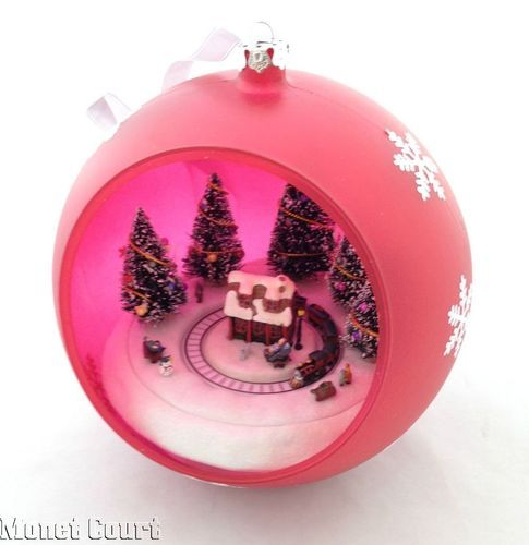 14 Animated Tabletop Christmas Ornaments Images Pinterest Musical Ornament Train