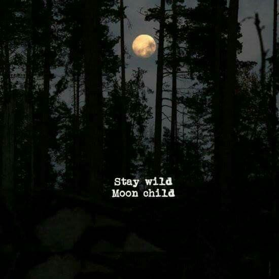 Stay wild moonchild