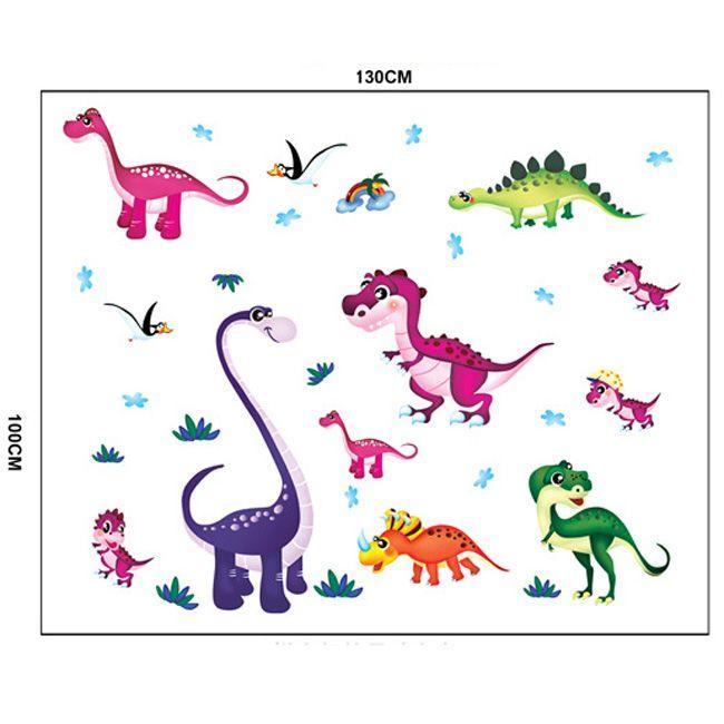 Gyerekszoba falmatricák fiúknak : Dínók falmatrica  #dinó #dinoszaurusz #triceratops #trex #brontosaurus #gyerekszobafalmatrica  #falmatrica #gyerekszobadekoráció #gyerekszoba #matrica #faldekoráció #dekoráció