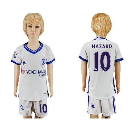 Chelsea Trøje Børn 16-17 Eden #Hazard 10 3 trøje Kort ærmer,199,62KR,shirtshopservice@gmail.com