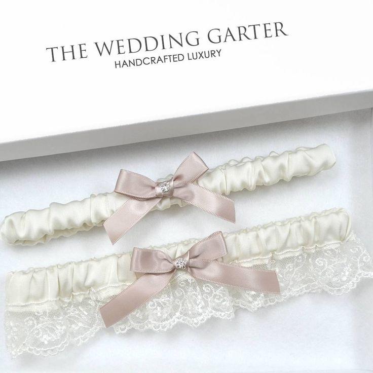 ivory wedding garter set online brisbane