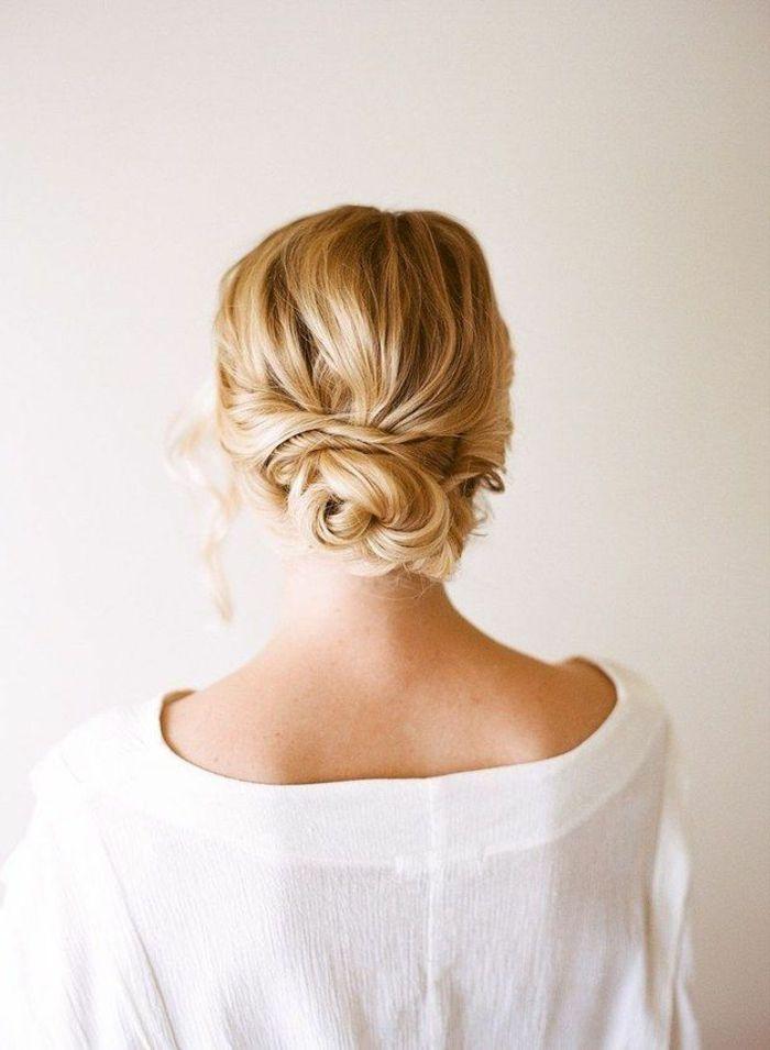 moderne frisuren blondes haar hchsteckfrisur