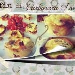 Muffin di Carbonara Invertita   La Luna dei Golosi