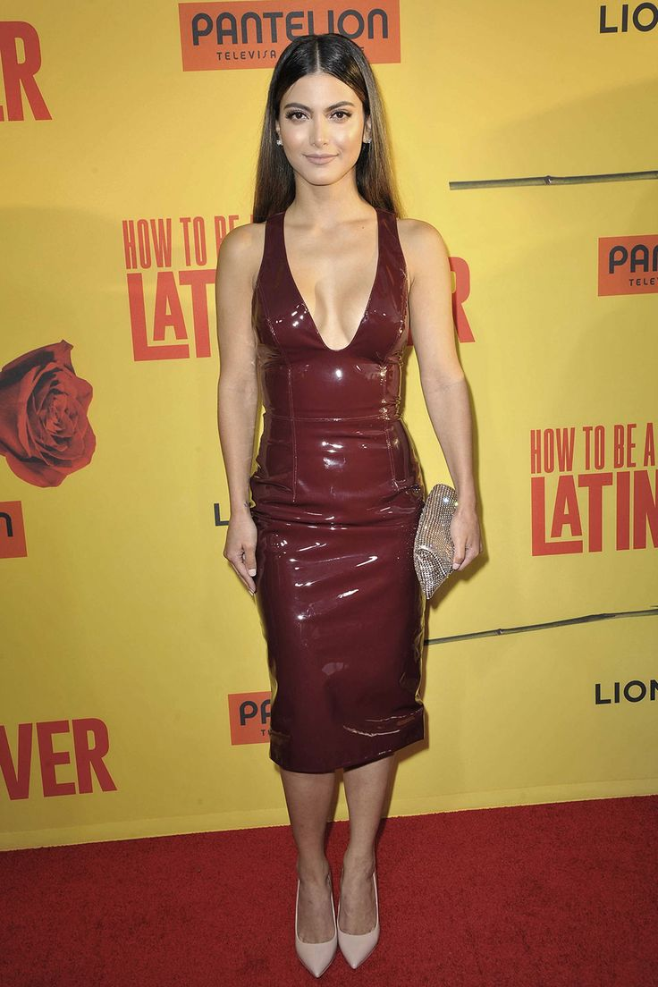 Maria Elena Davila Attends The Premiere Of 'how To Be A Latin Lover'