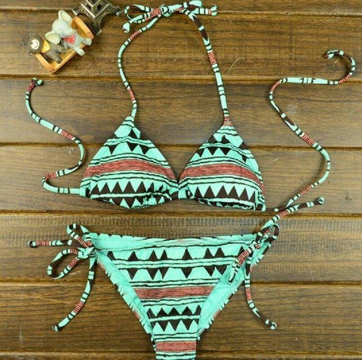 Aztec bikini.