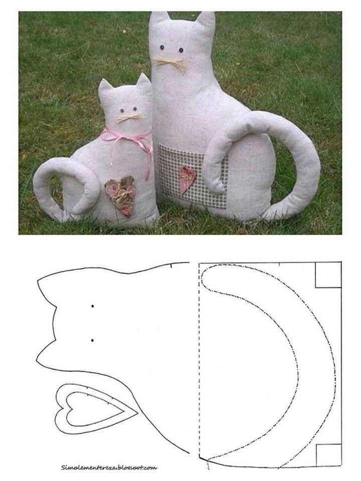 Gato de tela
