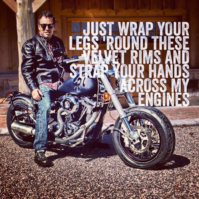 Born to Run - Bruce Springsteen What ever you say..... Boss ;}