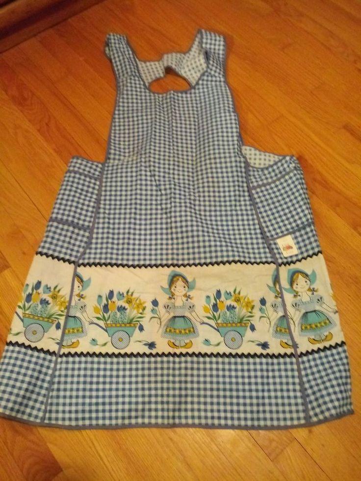 Fruit of the Loom VINTAGE apron Original Tag Full pockets