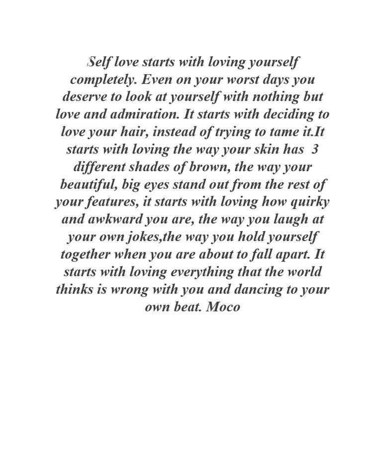 Wrote myself a letter a few weeks ago. www.miss-moco.blogspot.co.za