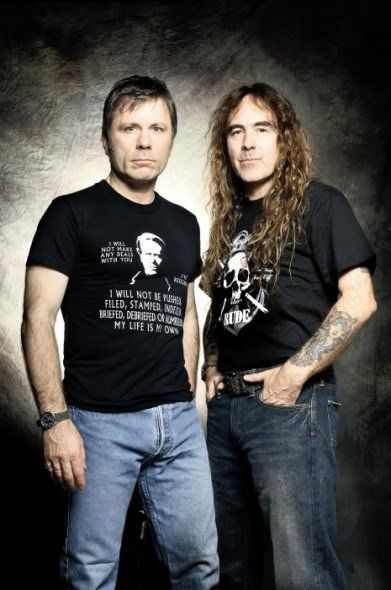 Bruce and Steve