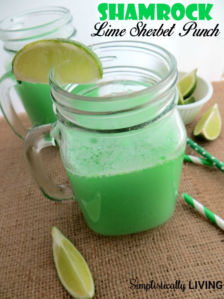 how to make lime sherbet punch