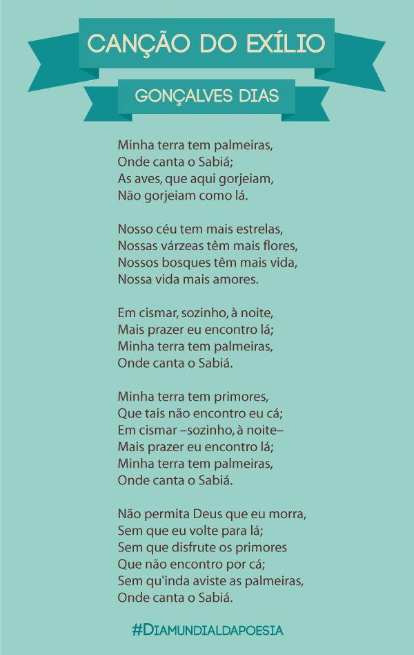 Canção do Exílio - Gonçalves Dias