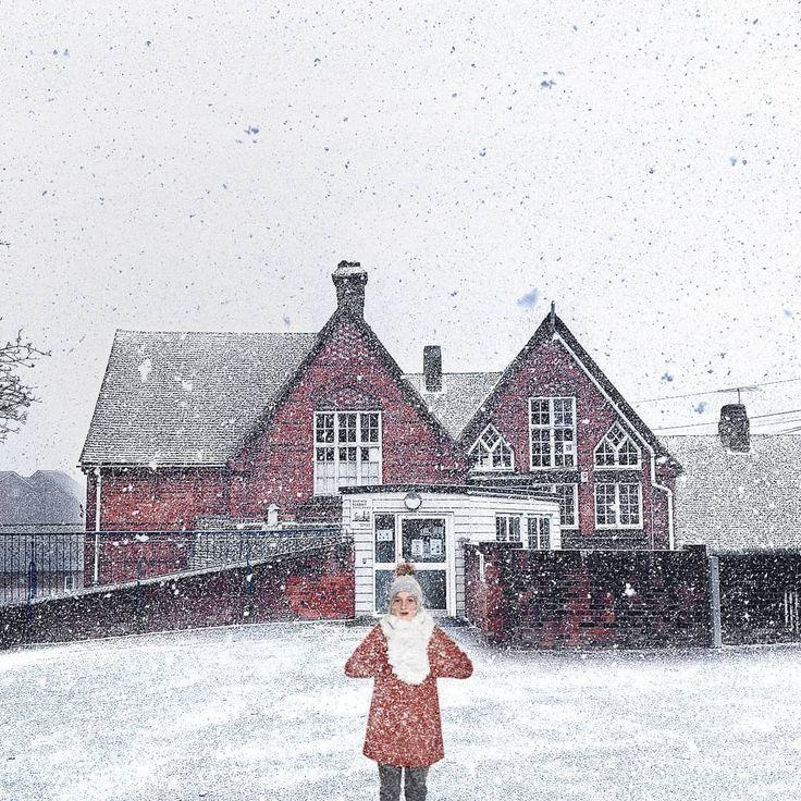 """""""D'après vous, combien de temps dois-je rester là pour me transformer en bonhomme de neige ? Je…"""""""
