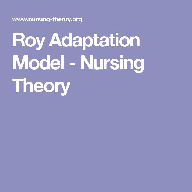 Sister Callista Roy's Adaptation Model of Nursing