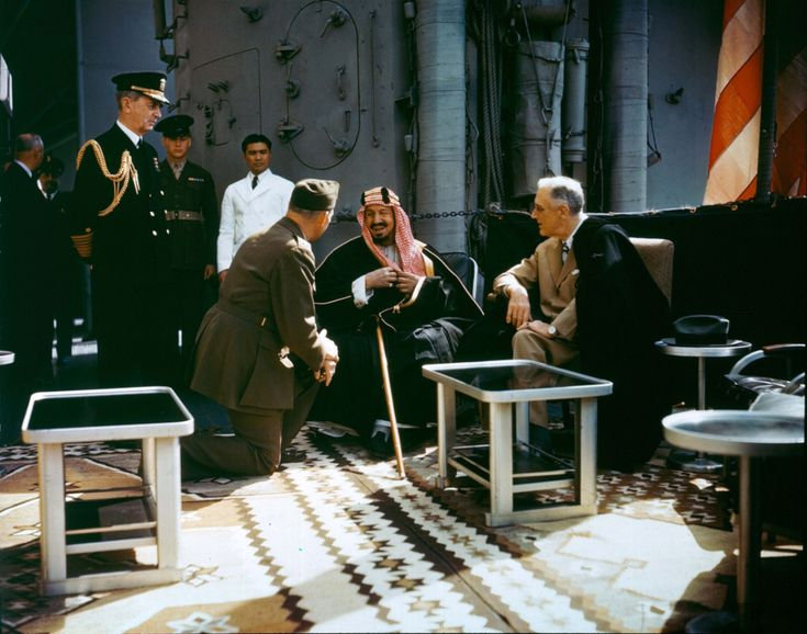 Valentine's Day, FDR and Ibn Saud-style