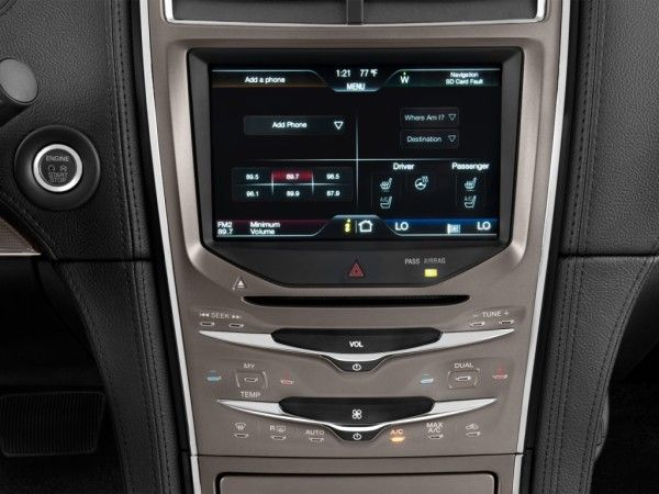 2014 Lincoln MKX Temperature Controls 600x450 2014 Lincoln MKX Full Review, Features and Quality