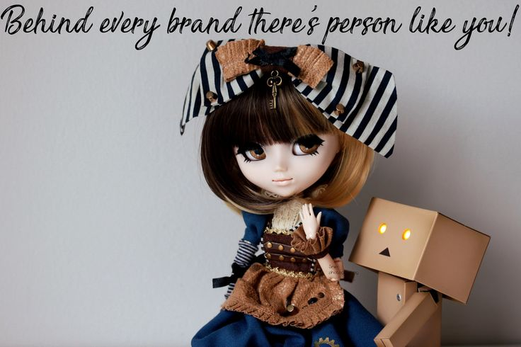 Behind every brand there's person like you! | by Siniirr