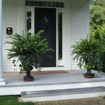 25 best ideas about front porch planters on pinterest front porch flowers front door. Black Bedroom Furniture Sets. Home Design Ideas