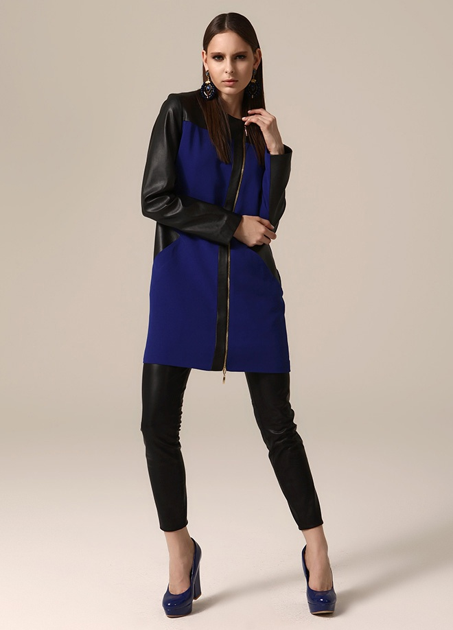 Jus de pommes Deri garnili fermuarlı ceket Markafonide 289,99 TL yerine 149,99 TL! Satın almak için: http://www.markafoni.com/product/3758899/