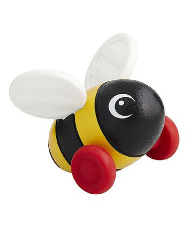 This Wood Bumblebee Toy is perfect! #zulilyfinds