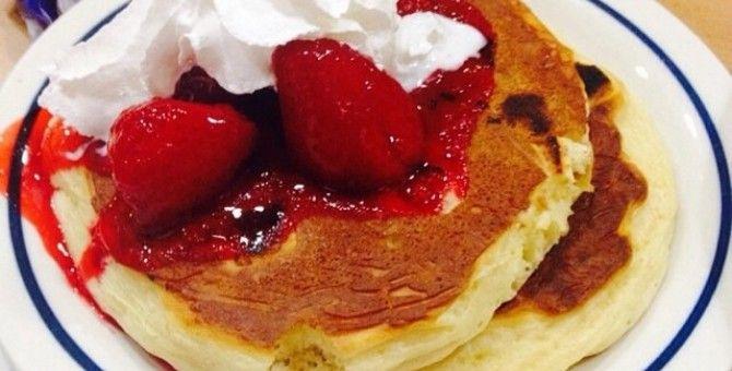 New York Cheesecake Pancake