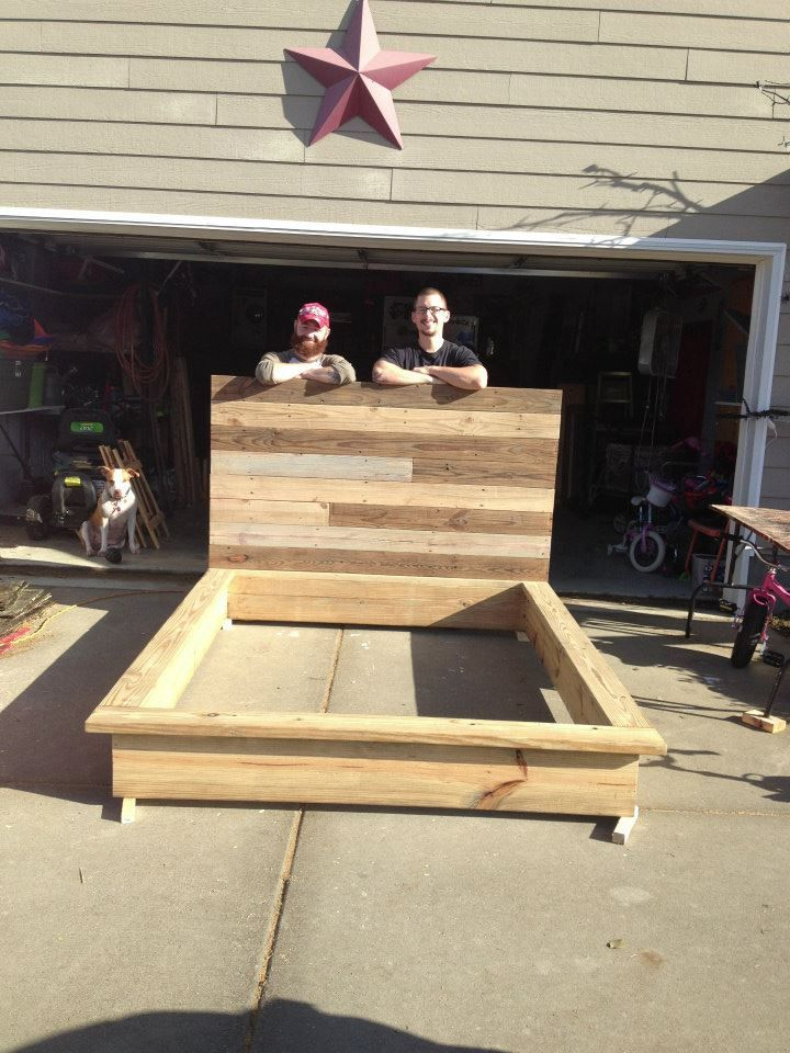 custom reclaimed wood bed locally made bed frame - Reclaimed Wood Bed Frame