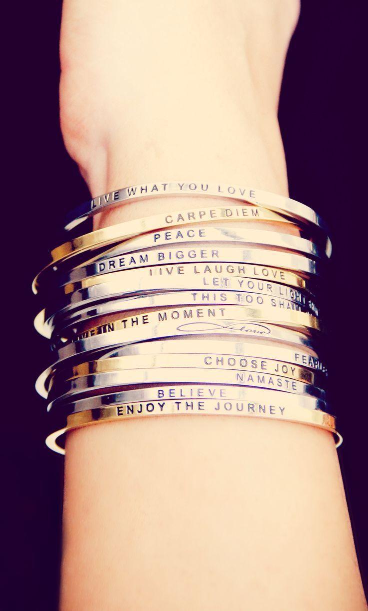 MantraBand bracelets make the perfect gift ♥