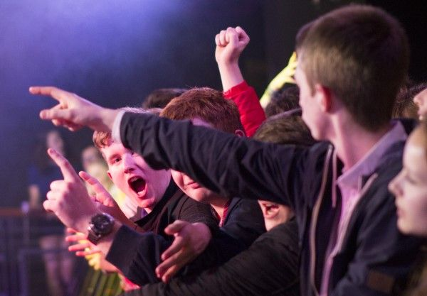 The Sherlocks - crowd
