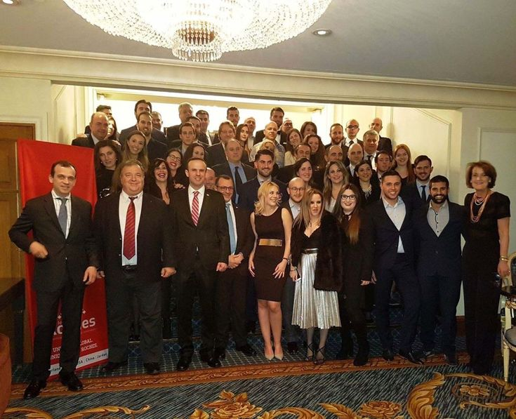 Glion Institute, Les Roches Alumni Meet in Athens to Discuss Hospitality.
