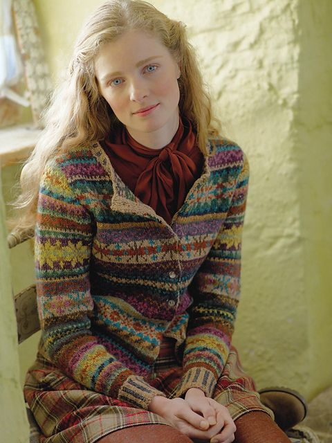 Ravelry: Orkney pattern by Marie Wallin, Cardigan, Knitting, Fair Isle, Rowan