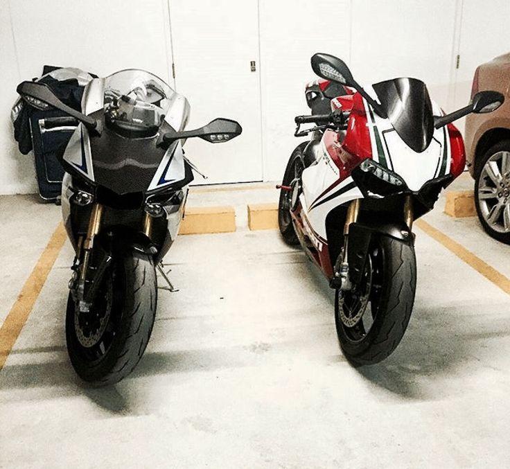 Yamaha R1M Vs Ducati 1199 Panigale Tricolore