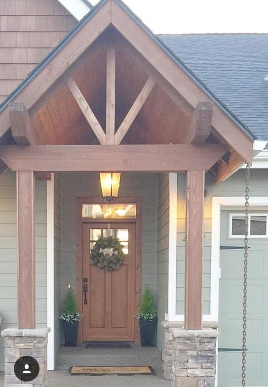 25 Best Porch Roof Addition Images On Pinterest