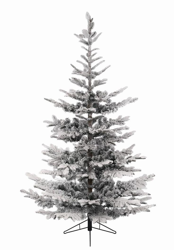 9ft Snowy Nobilis Fir Feel-Real Artificial Christmas Tree