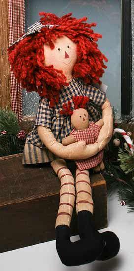 Raggedy Ann Doll: