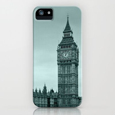 Big Ben iPhone & iPod Case by Alice Gosling - $35.00  Available for Galaxy S4, iPhone 5, 5S, 5C, 4S, 4, 3GS, 3G, & the iPod Touch I love this!