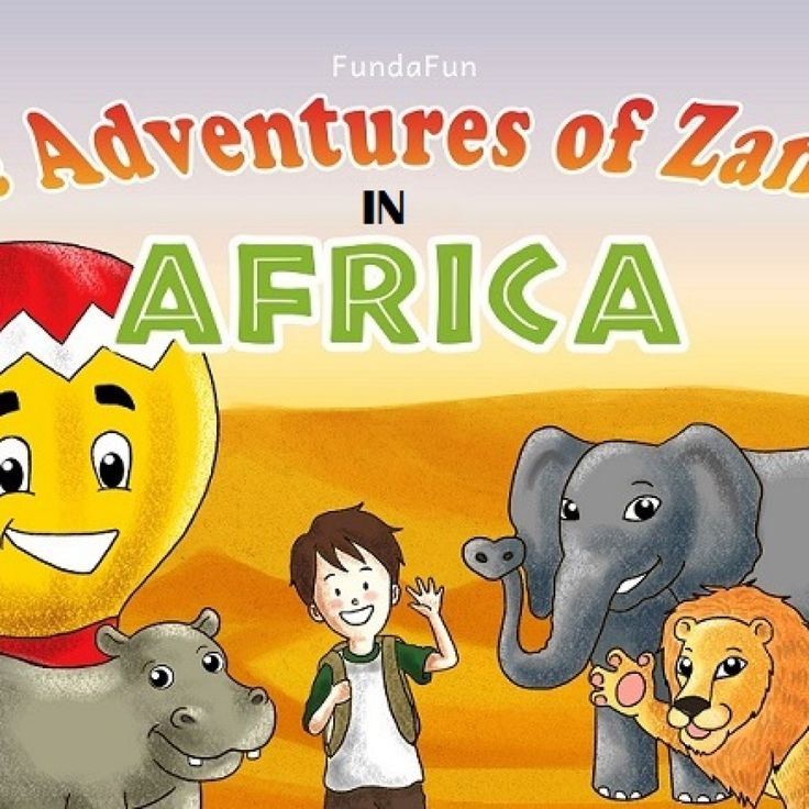 Children's book: The Adventures of Zander In Africa: Adventure & Education for children – Books for Early & Beginner Readers | FundaFun Publications #Children #Kindle #book