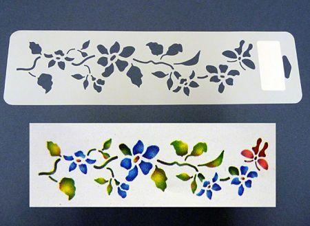 Mais de 1000 ideias sobre flores para imprimir no - Plantillas cenefas para pintar ...