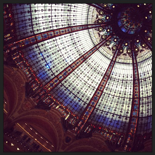 Architecture at Galleries Lafayette