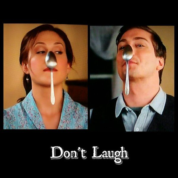 """Don't laugh."" :D LOVE this scene"
