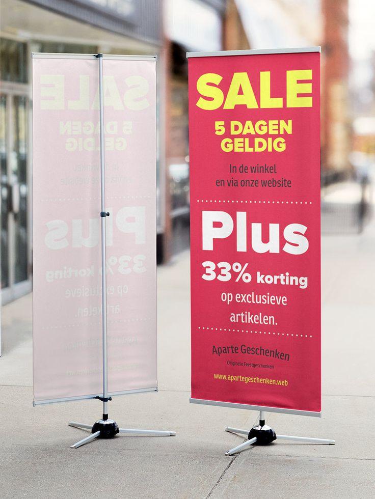 Spandoeken maken | banners van vinyl | Vistaprint