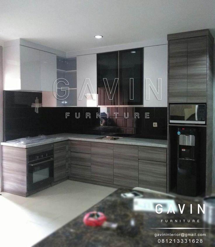 tersedia berbagai jenis finishing hpl beragam Design Kitchen Set Minimalis By Gavin Project pembuatan design kitchen set minimalis kali ini ditujukkan untuk klien kami di Menteng Jakarta Pusat. Pem…