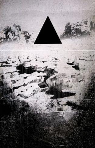 Simon Plasse - Tryptique triangle noir