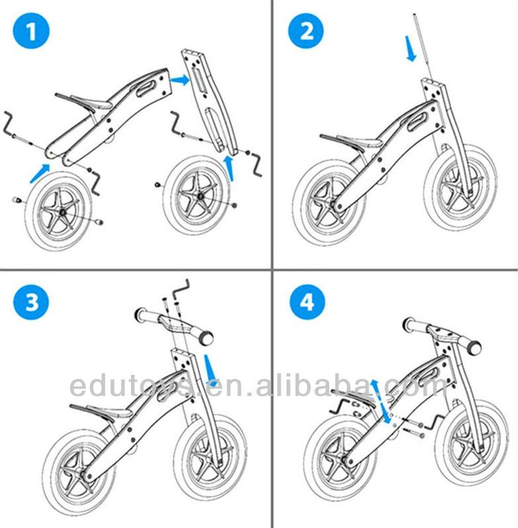 Children Balance Bike Wooden Bike, View Children Balance Bike Wooden Bike, Goodkids Product Details from Yiwu Xiangtiange Educational Toys Factory on Alibaba.com